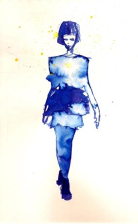 Models Ink Blue blog