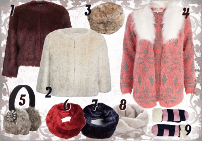 Faux fur trend picks by Rachel McLaughlin on Lovetabii
