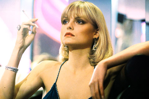 Michelle Pfeiffer Scarface Michelle Pfeiffer Scarface