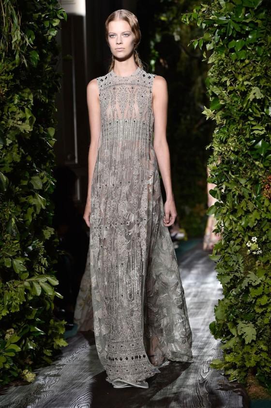 Valentino: Runway - Paris Fashion Week : Haute Couture Fall/Winter 2014-2015