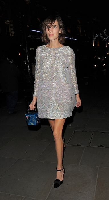 Celebrities leaving the British Fashion Awards Afterparty