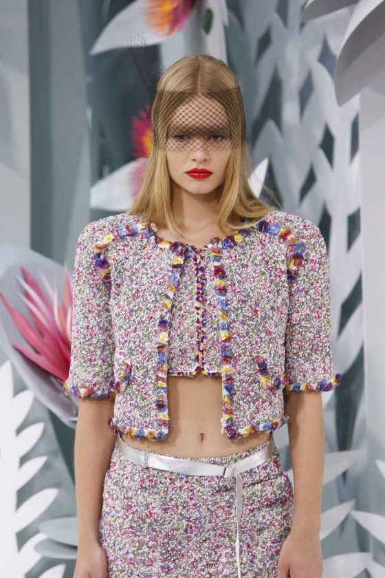 Chanel Couture Colletion Spring Summer 2015 in Paris